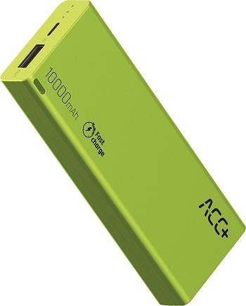 Power Bank ACC+ THIN 10000 mAh z systemem Fast Charge Zielony-img-2902