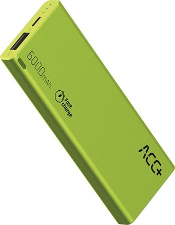 Power Bank ACC+ THIN 6000 mAh z systemem Fast Charge Zielony-img-2918