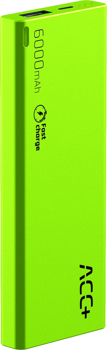 Power Bank ACC+ THIN 6000 mAh z systemem Fast Charge Zielony-img-2919