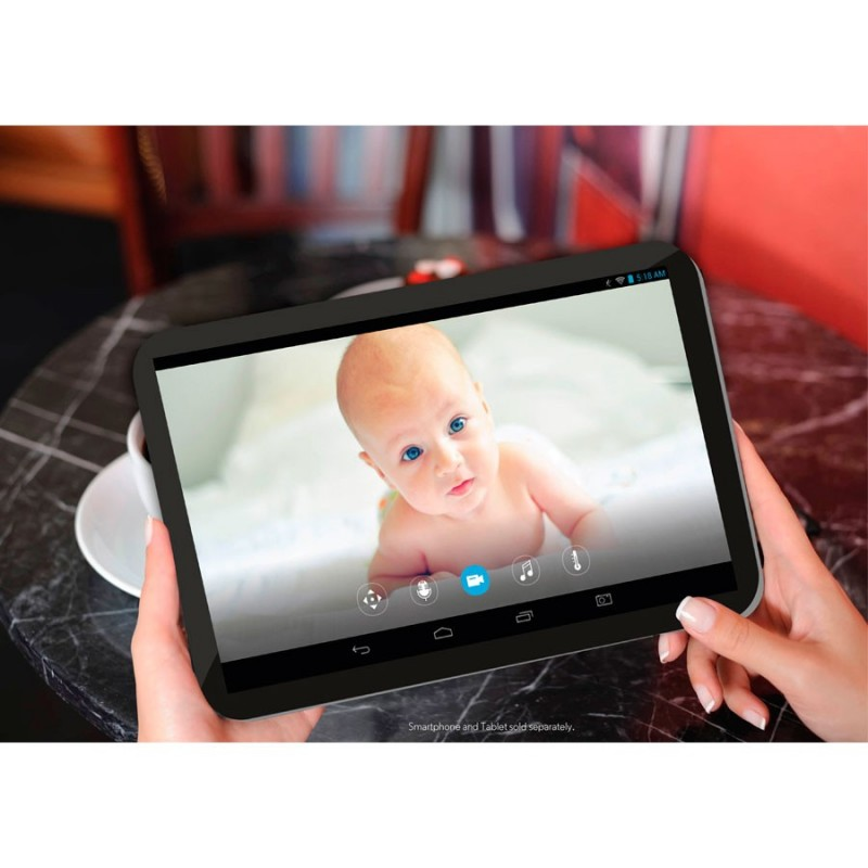 how to connect motorola baby monitor to phone