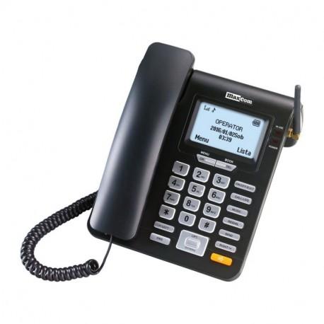 MAXCOM COMFORT MM28D - biurkowy telefon GSM