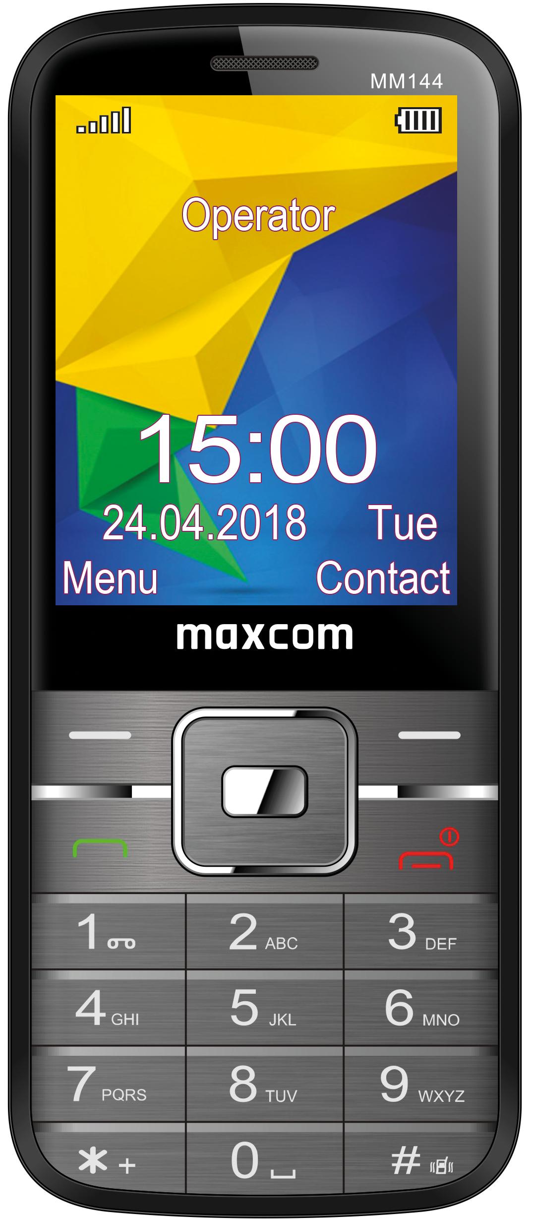 MAXCOM Classic MM144 Wszystkie telefony komórkowe sklep