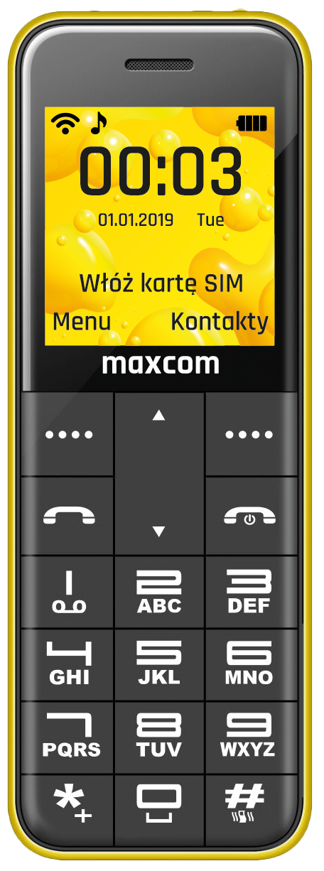 MAXCOM Classic MM111 Pocket phone-img-4311