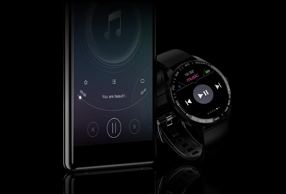 muzyczny zegarek
