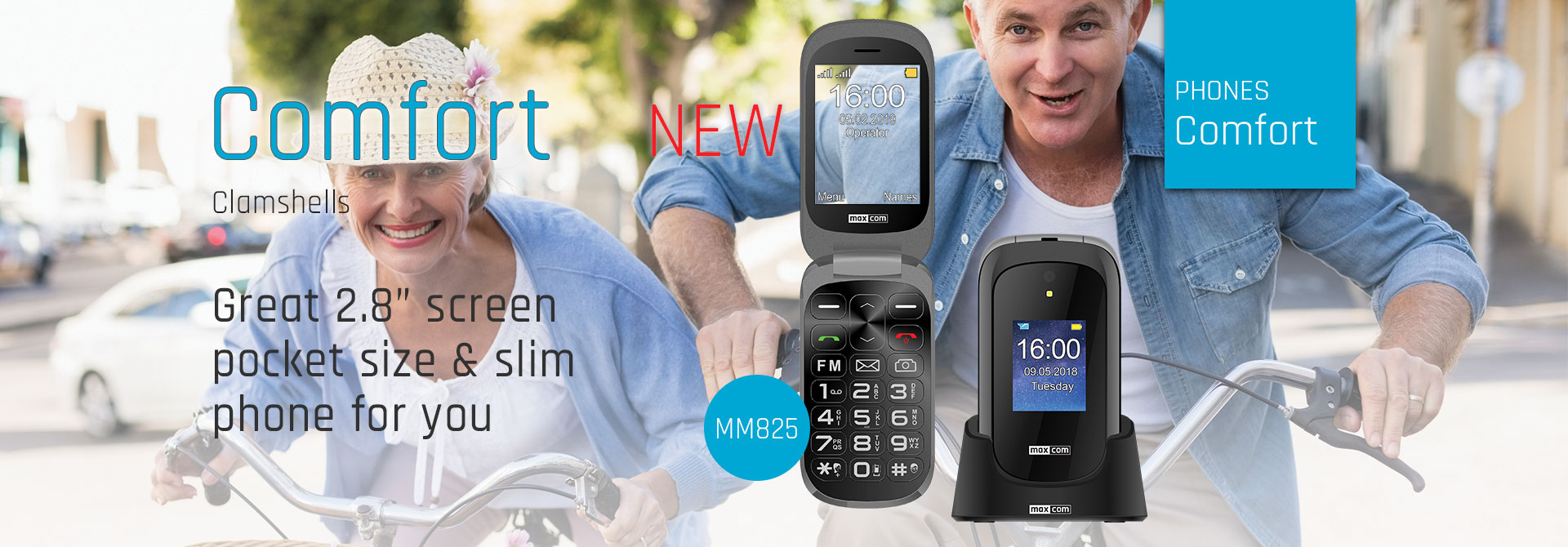 New Maxcom Comfort mm825