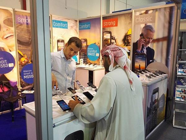 MAXCOM NA TARGACH TELECOM NA BLISKIM WSHODZIE - GITEX 2017 W DUBAJU